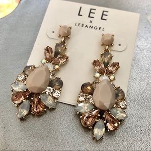 LEE ANGEL for NEIMAN MARCUS statement earrings NWT